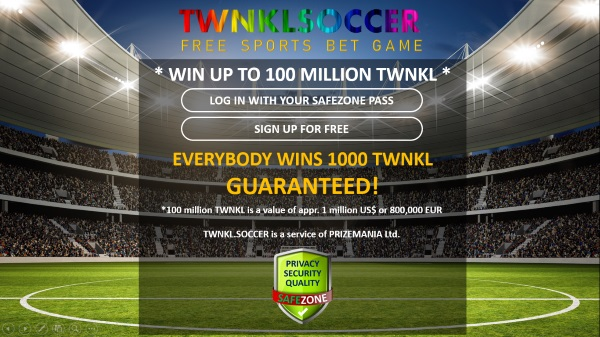TWNKL Soccer is Free for everyone!