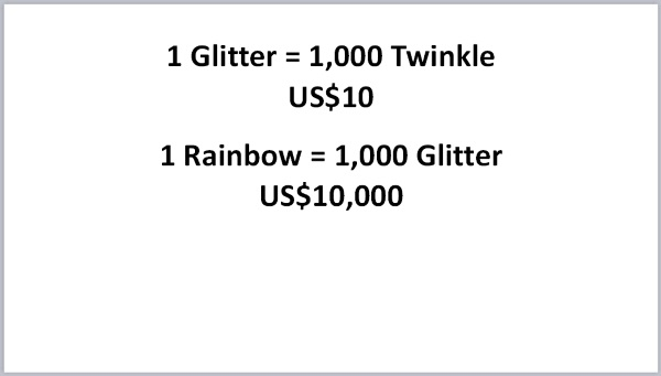 Glitters and Rainbows